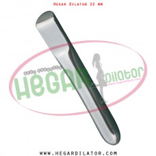 Hegar dilator 22 mm
