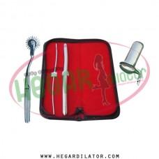 Hegar dilator Set of 2pcs 3-4, 11-12, pinwheel, collin speculum large