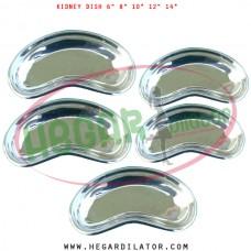 Kidney dish stainless steel